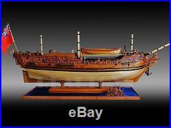 1/30 scale HMS Royal Caroline 1749 wood ship model kit wood sailing boat kit