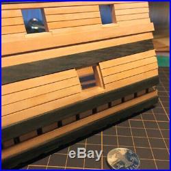 148 Deck Battle Station Wood Model Ship Kit