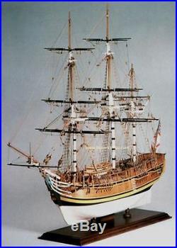 Amati HMS Bounty 30 Wooden Tall Ship Model Kit Historic Series Mutiny Bligh