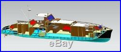 Aphrodite Yacht Scale 1/18 1253mm 50 DIY RC model ship kit pre-sale