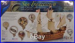 Artesania Latina 1/90 San Francisco II Wooden Model Ship Kit LAT22452-N