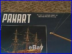 Beautiful, brand new Mantua Panart wooden model ship kit the Royal Caroline
