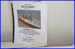 Bluejacket Shipcrafters, Uss Olympia Model Ship Kit, Limited Edition & Rare