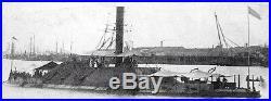 C. S. S. Tennessee Civil Era Confederate Ironclad Navy Ship Model Kit
