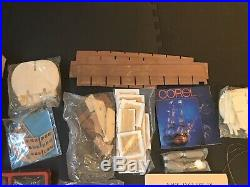 Corel Modellismo 1/98 British H. M. S. Victory Wooden Model Ship Kit PLEASE READ