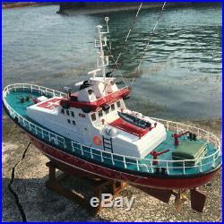 Emile Robin Rescue Vessel 130 650mm RC DIY wooden model ship kit