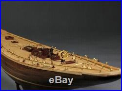Endeavour America's Cup J class yacht wooden model ship kit 18 Sailboat