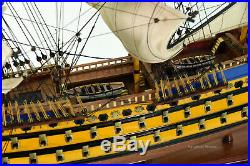 French Soleil Royal (Royal Sun) Handcrafted Wooden Tall Ship Model 31