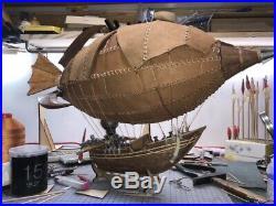 Goblin Zeppelin 600mm 23.6 World of Warcraft Wooden model ship kit