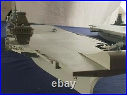 HMS Queen Elizabeth aircraft carrier 1/350 model ship kit with F35