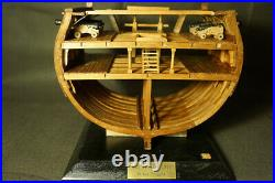 HMS Triton full rib Cross Section Scale 1/48 8.6 Wooden Ship Model kit