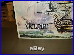 HMS Victory Aeropiccola-Torino Italy Wood Ship Model Kit Lord Nelson's Flagship