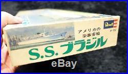 Luxury Passenger Ship Of The Americas S. S. Brasil Revell Model Kit Ss Brasil