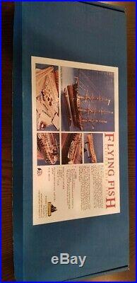 Model Shipways Flying Fish Wooden Clipper Ship Model Kit 196 Scale