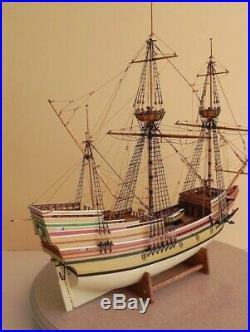 Model Shipways MAYFLOWER, 1620, 5/32 SCALE (176) Wooden Model Ship Kit