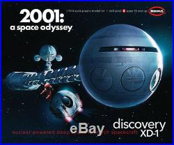 Moebius 2001 A Space Odyssey Movie Discovery XD-1 Ship plastic model kit 1/144