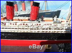 Mr Hobby (Gunze Sangyo) 1/350 RMS Lusitania Ship Model Completed Assembled withBox