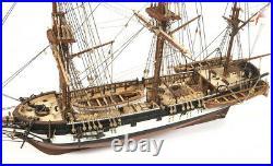 Occre HMS Beagle 165 Scale Model Ship Kit Basic Without Sails