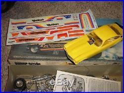 RARE Aurora AFX 1/16 Super Scale Vega Voo Doo Intruder Funny Car Free Shipping