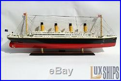 RMS Titanic Wood Cruise Ship Model 40 Special Edition