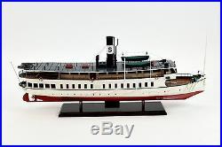 Saltsjon (Saltsjön) Steamship Handmade Wooden Passenger Ship Model 32