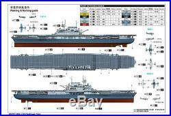 Trumpeter 1/200 03711 USS YORKTOWN CV-5 SHIP model kit Assembled model