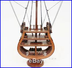 USS Constitution Cross Section Wooden Tall Ship Model 34 Old Ironsides Navy New