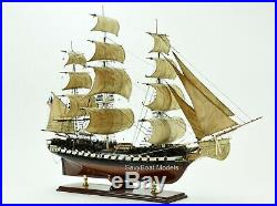 USS Constitution Wooden Tall Ship Model 37 Museum Quality Scale 196