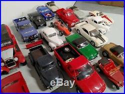 Vintage Huge Lot Plastic Model Kit's 45+ Built Free Shipping Must See